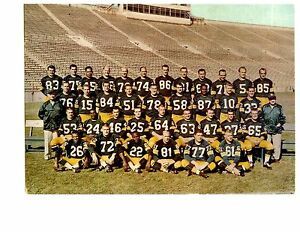 1961-GREEN-BAY-PACKERS-8X10-TEAM-PHOTO-STARR-NITSCHKE-WISCONCIN-FOOTBALL-NFL