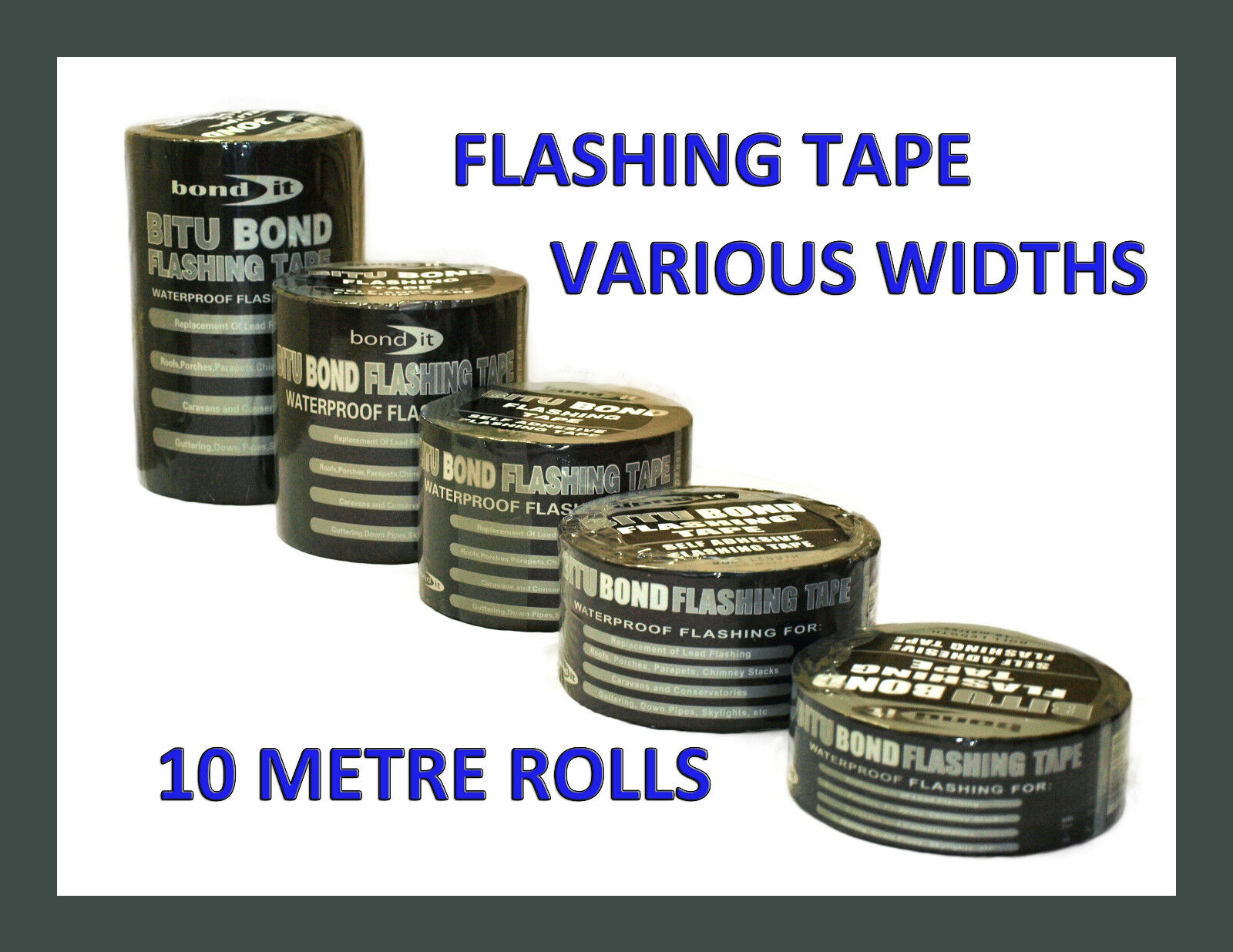Flashing Tape Flash Band Roofing Repair Self Adhesive Tape