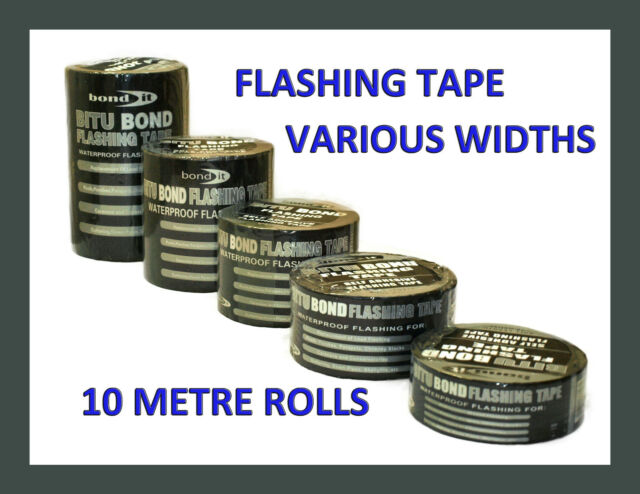 FLASHING TAPE FLASH BAND ROOFING REPAIR SELF ADHESIVE TAPE ROLL LEAD BITUMEN 10m