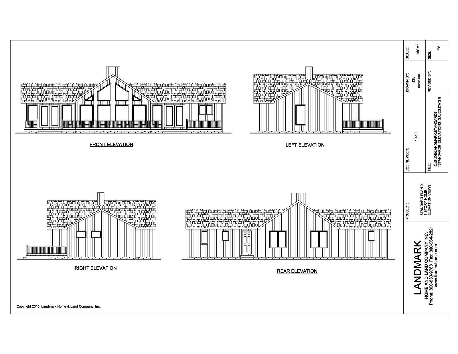 Kit homes house by landmark home land co prefab house home for 6 bedroom kit homes