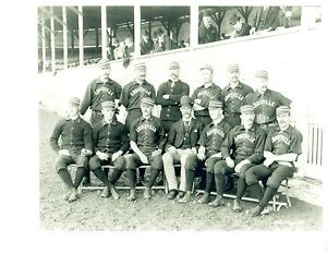 1888-LOUISVILLE-COLONELS-8X10-TEAM-PHOTO-ANTIQUE-BASEBALL-KENTUCKY-USA