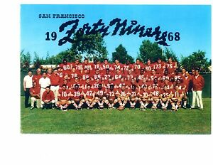 1968-SAN-FRANCISCO-49ERS-8X10-TEAM-PHOTO-BRODIE-NFL-CALIFORNIA-VINTAGE-FOOTBALL