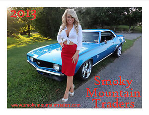 Details about 2013 Smoky Mountain Traders Calendar L@@K