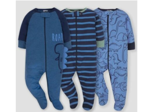 Gerber Newborn Baby Boy Pajama Sleep N