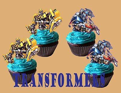 TRANSFORMERS Cupcake Topper - Transformers Cupcakes