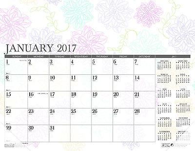 2017 Coloring Desk Pad Calendar House Of Doolittle 22 X 17  Hod 188