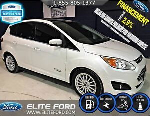 Ford C-Max Energi sel, cuir, toit panoramique, gps 2013