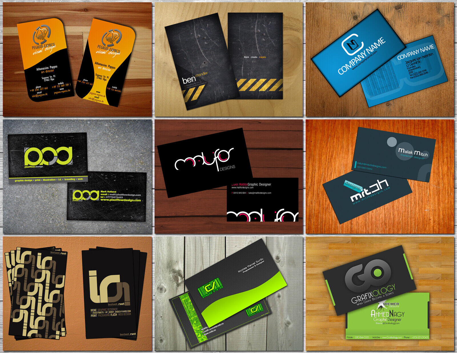 Business Card Designing Within 24 HOURS  - $7.98