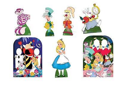 DISNEY ALICE IN WONDERLAND BIRTHDAY PARTY LIFESIZE CUTOUT PROP PHOTO DECORATIONS](Disney Alice In Wonderland Party Supplies)