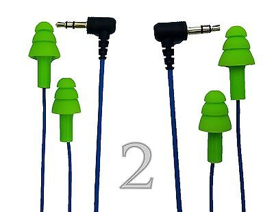 2 Pack Bundle Workinbuds Ear Plug Earbuds For Work Keep The Noise Out Music In