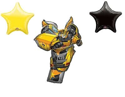 Bumblebee Transformers 3 pieces Movie Birthday Party Balloons Decoration ](Transformer Balloons)