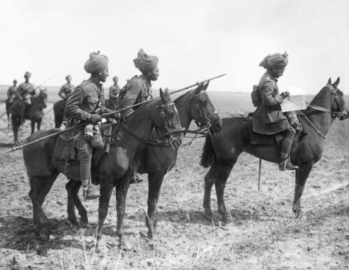 WW I- India Cavalry Scouts-9th Hodson