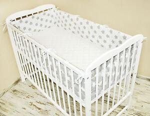 Bettumrandung Nestchen Kopfschutz 420x30, 360, 180 Bettnestchen Baby MIX