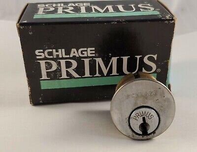 Schlage Primus Mortice Mortise Cylinder Pinned No Keys - Locksport Locksmith