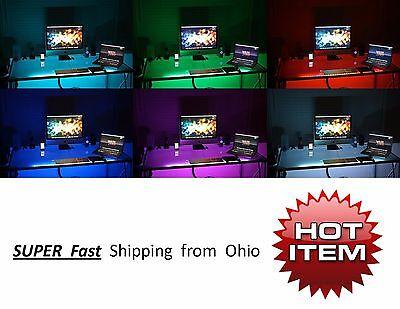 - KIDS room accent lighting UNDER gaming computer desk LED lighting KIT - NEW gift