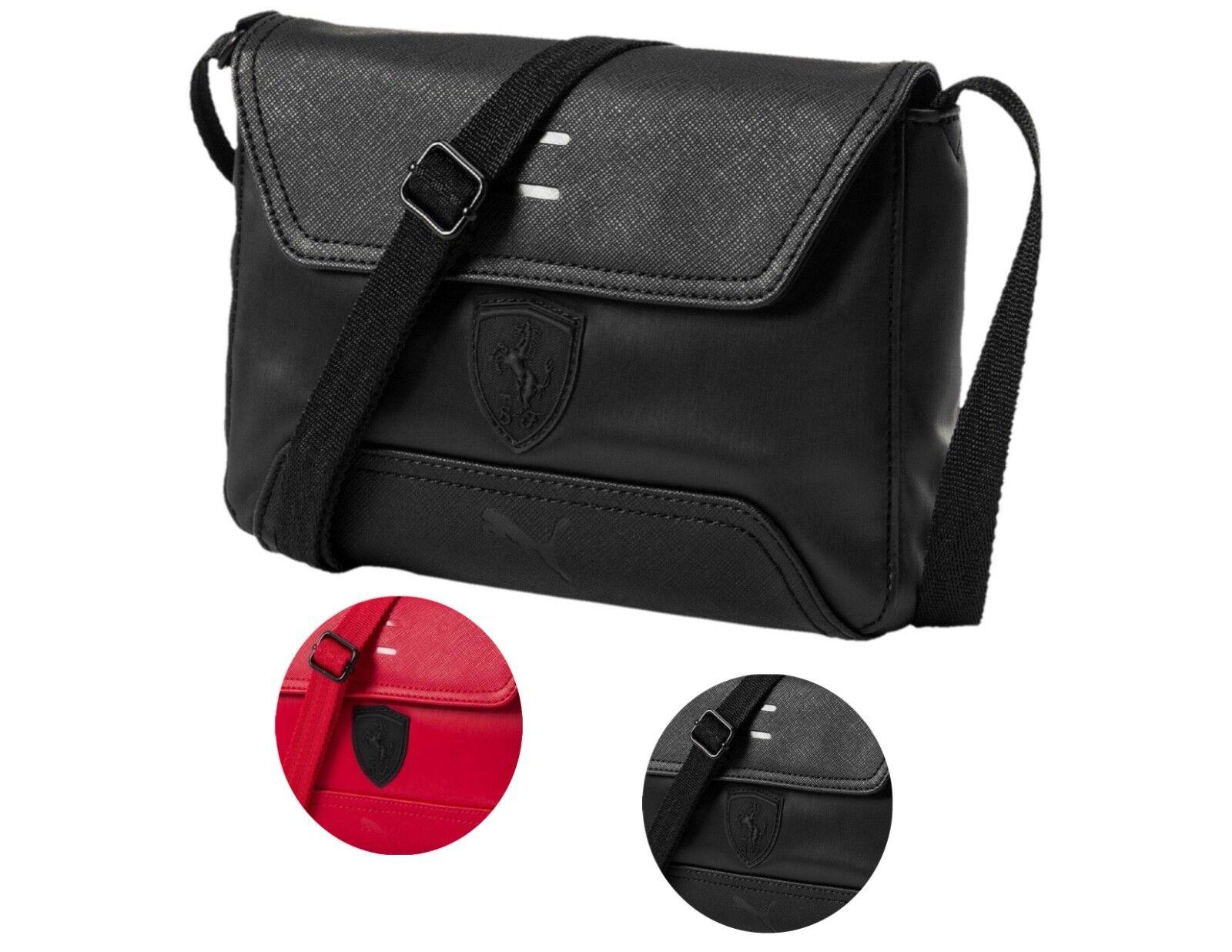 Puma Ferrari Women's Magnetic Snap LS Handbag Purse Small Sa