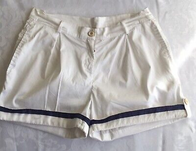 ERMANNO SCERVINO Junior White Short Girls Size S