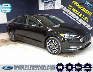 FORD FUSION SE 2017, AWD, ?COBOOST, TOIT, GPS,