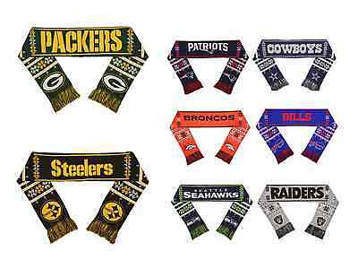 NFL Football Team Logo LIGHT UP Scarf - Pick Your Team!](Light Up Footballs)