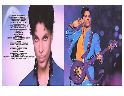 Prince  R B  Dvd Music Videos