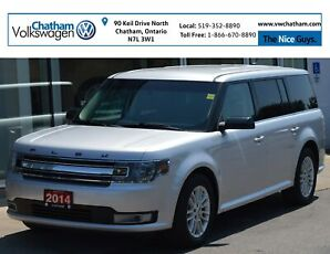 2014 Ford Flex Heated Seats Bluetooth Touch Screen Display