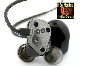 Aurisonics AS Kicker In Ear Monitor Works with Shure, Sennheiser & Mipro Systems
