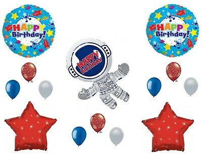 Astronaut Outer Space Happy Birthday Party Balloons Decorations Supplies - Astronaut Party Supplies