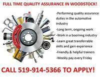 Quality Automotive Parts Inspectors Needed - CALL 519-914-5366