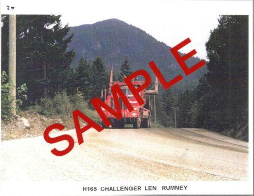 Photo - Challenger #H165, Len Rumney driving.