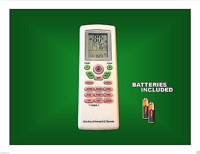 Universal A/C AC Remote Control With 4000 Brand Codes In Memory! KE05