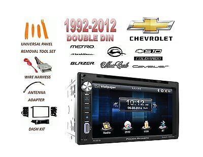 CHEVROLET IMPALA MALIBU S10 TOUCHSCREEN BLUETOOTH DVD CD AUX MP3 STEREO COMBO