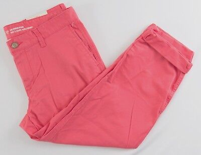 NWT Womens GAP Girlfriend Khaki Pants Paradise Pink - 409839 (T55)