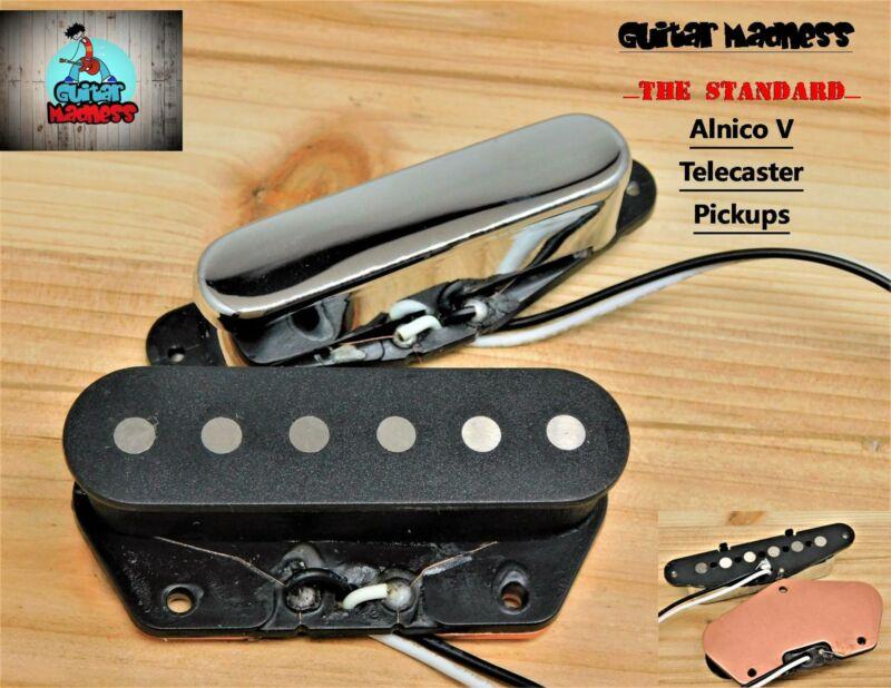 """G.M. Tele """"The Standard"""" Pickups for Fender Telecaster® Alnico V"""