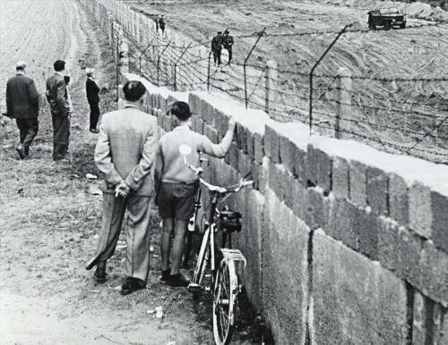 1961-BERLIN WALL-East Germans Prepare Death Strip-Prevent Anyone Crossing Border