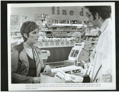 Press Release Photo showing Barbara Streisand from the Movie, For Pete