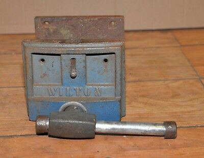 Wilton US made bench vise 7