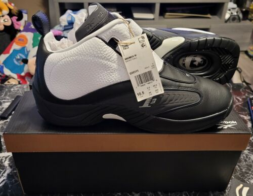 Reebok Answer IV Stepover 2021 G55111 Allen Iverson Size 10.5 NEW 100% AUTHENTIC