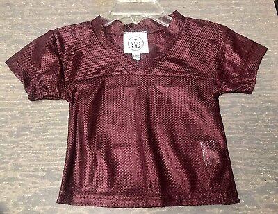 Blank Spirit Jersey (Infants 12 Months Blank Maroon Halloween Costume Football Spirit Jersey)
