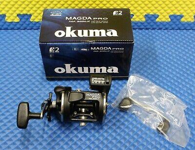 Okuma Magda Depth Counter Trolling Reel MA 15D 4 Pack!!