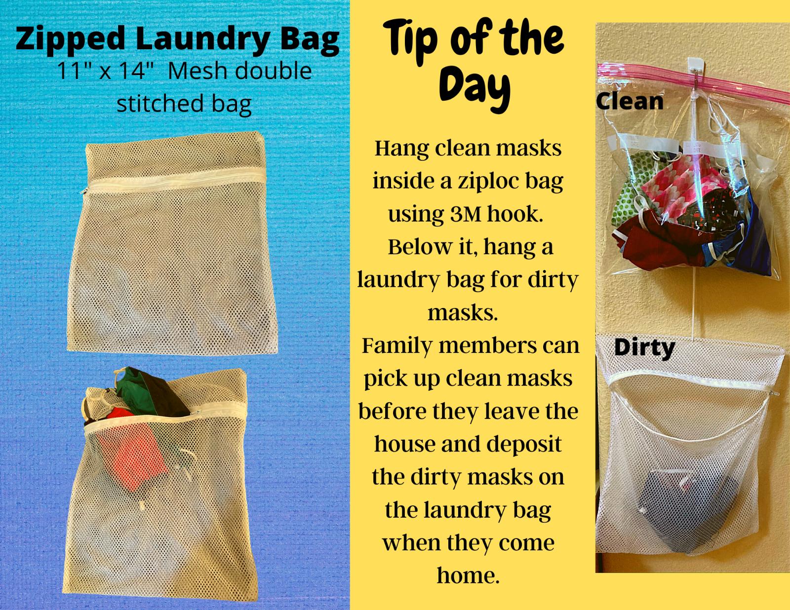 Face Mask/lingerie laundry bag