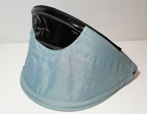 Chicco Canopy Sun Shade Cover Grey & Black for Baby Stroller snap on