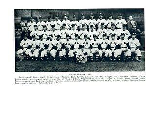 1949-BOSTON-RED-SOX-8X10-TEAM-PHOTO-BASEBALL-HOF-MLB-USA