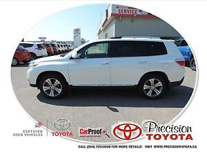 2013 Toyota Highlander V6 Limited Local One Owner, Leather, N...