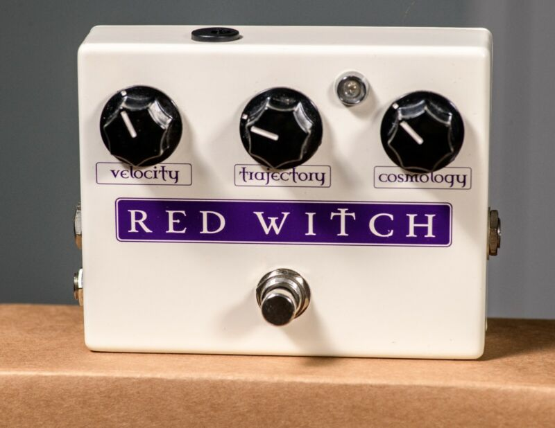 Red Witch Deluxe Moon Phaser and Tremolo Pedal - VERY GOOD USED CONDITION