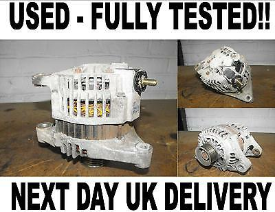 NISSAN MICRA 10 14 PETROL ALTERNATOR 2000 2001 2002 2003 2004 2005 2006 2007