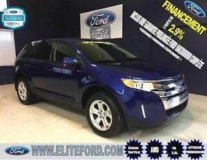 FORD EDGE SEL 2014, AWD, ÉCRAN TACTILE, V6