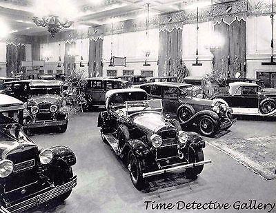 - 1927 Boston Car Show, Boston, Massachusetts - Historic Photo Print