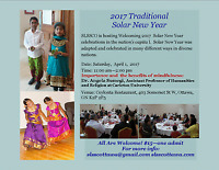 Welcoming 2017  Solar New Year celebrations