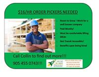 $16/HR - Furniture Company Hiring! Will Train you on Forklift!!!