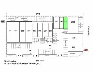 Retail/Office for lease, Vernon - #120, 4416 27th Street